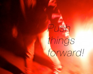 Push things forward 2014! (A) <3